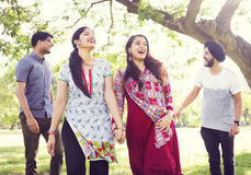 Indian Ethnicity Friendship Togetherness Concept Royalty Free Stock Photo
