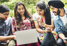Indian Ethnicity Middle Eastern Asian Community Concept Stock Images