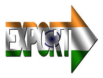 Indian export Stock Image