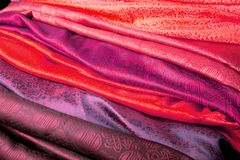 Indian fabric Stock Image