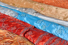 Indian Fabric Stock Photos