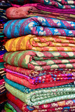 Indian Fabric. Used in Indian saree Stock Images