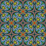 Indian fabric design Royalty Free Stock Photo