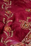 Indian fabric Royalty Free Stock Images