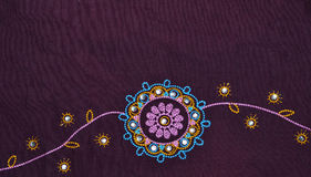 Indian fabric detail Stock Images