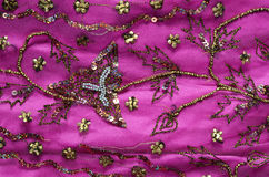 Indian fabric royalty free stock photo