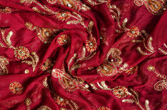 Indian fabric Stock Photography