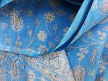 Indian fabric for dresses stock photos