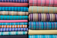 Indian Fabric Textile for Sale Royalty Free Stock Image
