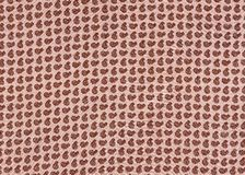 Indian fabric texture. Royalty Free Stock Images