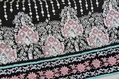 Indian fabric. Material of an indian dress Stock Photo