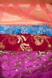 Indian fabrics Royalty Free Stock Photo