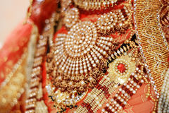 Indian fabrics Stock Images