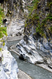 Indian face rock. In Taroko National Park Stock Images