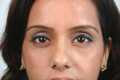 Indian face (series) Stock Photo