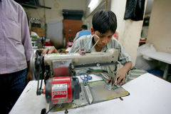 Indian factory Stock Photography