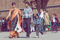 Indian family Royalty Free Stock Photography
