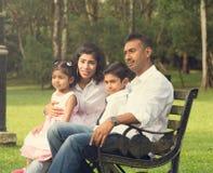 Indian family enjoying quality time Royalty Free Stock Photo
