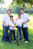 Indian family of four Royalty Free Stock Image