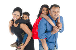 Indian family Royalty Free Stock Image