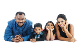 Indian family Stock Photography