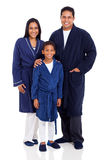 Indian familyp nightclothes Stock Image