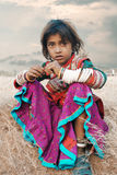 Indian Farmer Dauther Royalty Free Stock Photo
