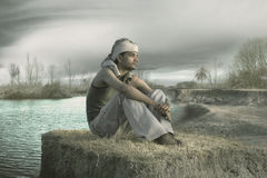 Indian Farmer Stock Photography
