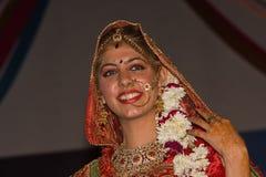 Indian fashion contest. Pushkar Fair ( Pushkar Camel Mela ) Stock Photo