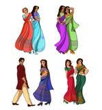 Indian fashion set Stock Photo