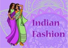 Indian fashion set Royalty Free Stock Photos