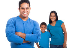 Indian father family Royalty Free Stock Image