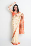 Indian female in dancing pose Stock Photography