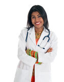 Indian female doctor Royalty Free Stock Photos