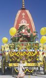 An Indian Festival of Chariots in Santa Monica California Royalty Free Stock Photo