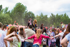 Indian festival of colors Holi Stock Photography