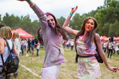 Indian festival of colors Holi Royalty Free Stock Photography