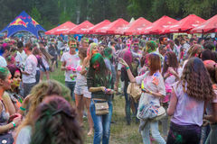 Indian festival of colors Holi Stock Photos