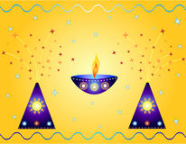 Indian festival design Royalty Free Stock Photos