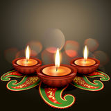 Indian festival diwali. Vector background Royalty Free Stock Images
