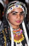Indian festival girl Stock Photos