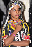 Indian festival girl Royalty Free Stock Photography