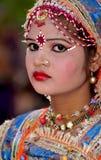 Indian festival girl Stock Image