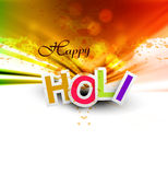 Indian festival Happy Holi splash celebrations Royalty Free Stock Photos