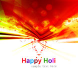 Indian festival Happy Holi splash colorful Stock Photography