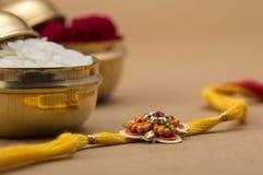 Indian festival: Raksha Bandhan, Rakhi. Stock Image