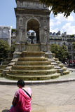 Fontaine des Innocents, Paris Stock Photo