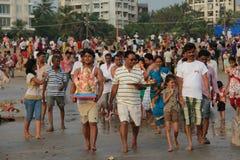 Ganesh visarjan Festival Royalty Free Stock Image