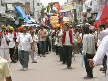 Indian Festivals-Bonalu-Goddess Procession Stock Images