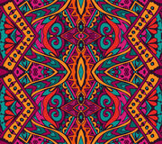 Indian festive colorful ethnic tribal pattern Royalty Free Stock Photography